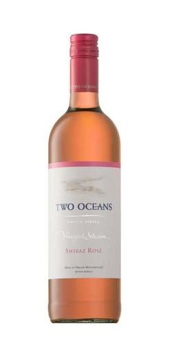 TWO OCEANS SHIRAZ ROSE 2016 13% 75CL