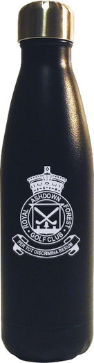 WATER BOTTLE 500ML BLACK - ENGRAVABLE