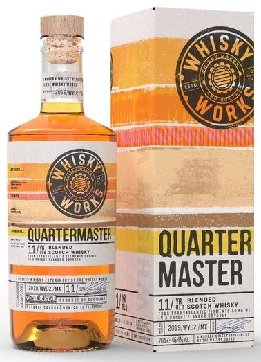 WHISKY WORKS WAVE 2 QUARTERMASTER 11YO 46.4% 70CL