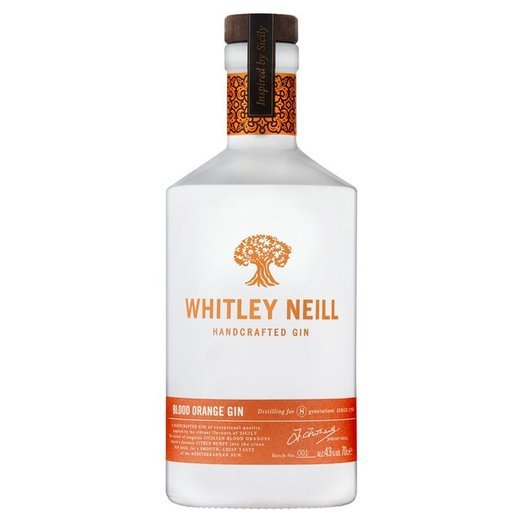 WHITLEY NEILL BLOOD ORANGE GIN 43% 70CL