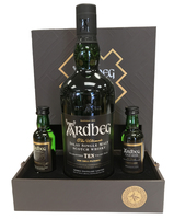 ARDBEG EXPLORE PACK 1 X 70CL ARDBEG 10 YEAR OLD 46% WITH 1 X 5CL ARDBEG UIGEADAIL 54.2% & 1 X 5CL ARDBEG CORRYVRECKAN 57.1%