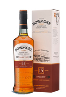 BOWMORE 15YO (DARKEST) 43.% 70CL