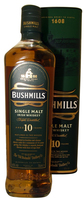 BUSHMILLS IRISH 10YO MALT 70CL 40%