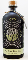 POETIC LICENSE NORTHERN DRY GIN  43.2% 70CL