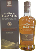 TOMATIN 18YO NON CHILL FILTERED OLOROSO SHERRY CASKS 46% 70CL