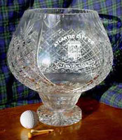 AMBASSADOR PANELLED CRYSTAL CLUB BOWL 27CM
