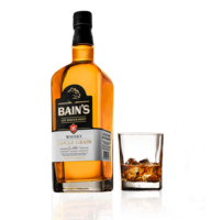 BAINS CAPE MOUNTAIN SINGLE GRAIN WHISKY