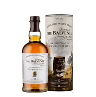 BALVENIE 12YO THE SWEET TASTE OF AMERICAN OAK 43% 70CL
