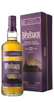 BENRIACH 22YO DARK RUM CASK 46% 70CL