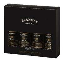 BLANDYS GIFT PACK 4*20CL contains 1 each: Sercial, Verdelho, Bual & Malmsey