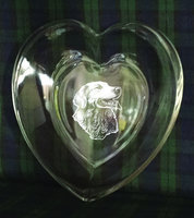 BOWL HEART DESIGN 20CM