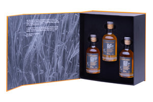 BRUICHLADDICH BARLEY EXPLORATION GIFT PACK 50% 3*20CL