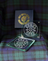 COASTER - SQUARE 10CM X 2 IN GIFT BOX
