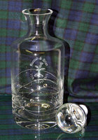 DECANTER - ROUND DIAMANTE SPIRAL 750ML