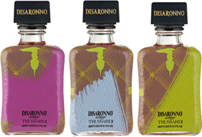 DISARONNO TRUSSARDI LIMITED EDITION MINIATURE SET 28%  3*5CL