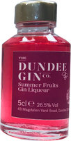 DUNDEE SUMMER FRUITS GIN LIQUEUR  26.5% 5CL