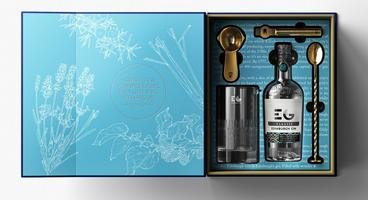EDINBURGH GIN CLASSIC & COCKTAIL SET 43% 70CL