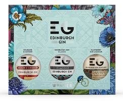 EDINBURGH GIN DISCOVERY PACK MIXED STRENGTHS 3*20CL