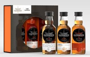 GLENGOYNE TIME CAPSULE 3*5CL INCLUDING 12YO, LEGACY CHAPTER 2 AND 18YO