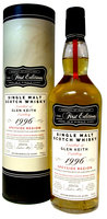 GLEN KEITH 1996 21YO FIRST EDITION 57.2% 70CL