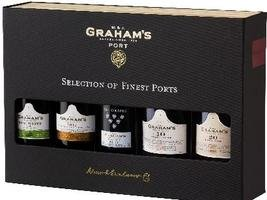 GRAHAMS GIFT PACK 5 X 20CL - 1 each: Fine White, LBV 2012, Six Grapes, 10YO Tawny, 20YO Tawny