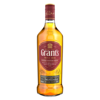 GRANTS BLENDED TRIPLE WOOD 40% 70CL