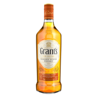 GRANTS BLENDED WHISKY RUM CASK 40% 70CL