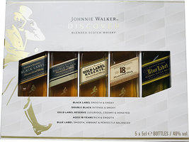 JOHNNIE WALKER MULTI PACK 5*5CL