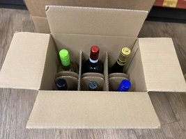 MIXED CASE 6 RED AND WHITE WINES £40