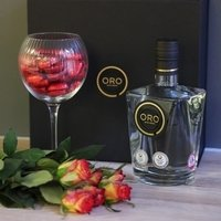 ORO GIN 43% 70CL GIFT SET WITH GLASS