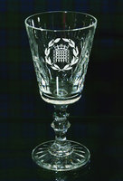 P/C WHITE WINE GLASS - WINDSOR DESIGN