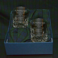 SET OF 2 PREMIUM WORCESTER SPIRIT GLASSES