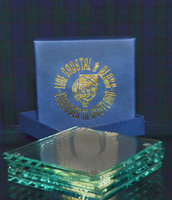 SET OF FOUR COASTERS PRESENTATION BOXED