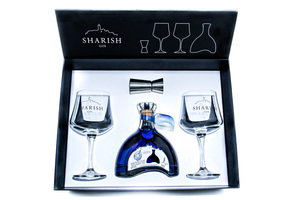 SHARISH BLUE MAGIC GIN GIFT PACK 40% 50CL