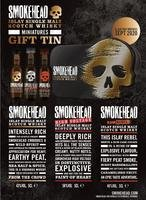 SMOKEHEAD GIFT TIN 3*5CL