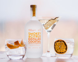 SMOKEY & CITRUS DISTILLED COCKTAIL 40% 50CL