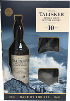 TALISKER 10YO GLASSES GIFT PACK 45.8%  70CL