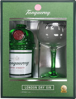 TANQUERAY GIN COPA GLASS PACK 43.1% 70CL