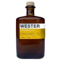 WESTER PINEAPPLE RUM 40% 50CL