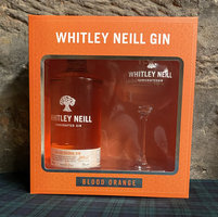 WHITLEY NEILL BLOOD ORANGE GIN GIFT PACK 43% 70CL