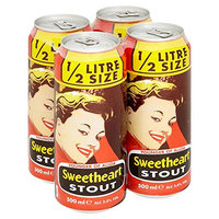 YOUNGERS OF ALLOA SWEETHEART STOUT. 12*500ML CANS